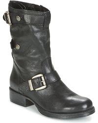 Dream in Green Iline Women's Mid Boots In Black