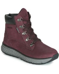 Allrounder By Mephisto Ostara-tex Mid Boots - Red