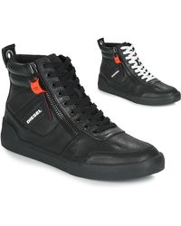 DIESEL S-dvelows Shoes (high-top Trainers) - Black