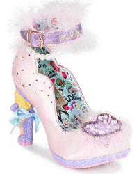 Irregular Choice All About Moi Heels - Pink