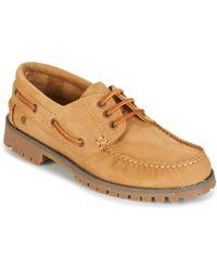 Casual Attitude Everoa Boat Shoes - Brown
