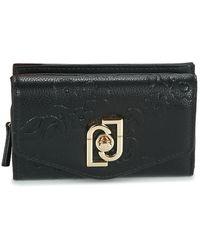 Liu Jo Piacente M Trifold Purse Wallet - Black