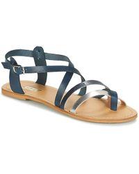 So Size - Sitafi Women's Sandals In Blue - Lyst