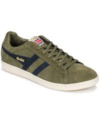 Gola Equipe Suede Shoes (trainers) - Green