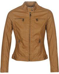 Moony Mood Leather Jacket - Multicolour
