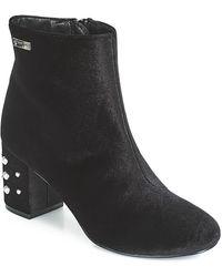 Les Tropéziennes Par M Belarbi Channon Women's Low Ankle Boots In Black