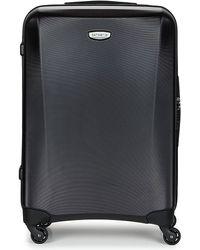 Samsonite Spinner 69/25 Men's Hard Suitcase In Multicolour - Black