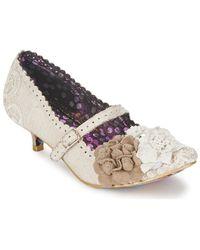 Irregular Choice Daisy Dayz Heels - Natural
