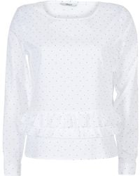 ONLY Tine Blouse - White