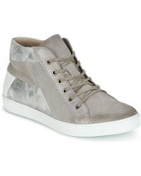 Dream in Green - - Women's Shoes (high-top Trainers) In Silver - Lyst