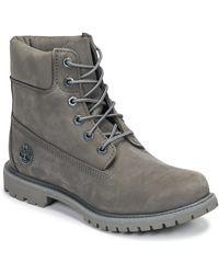 Timberland 6in Premium Boot - W Castlerock Mid Boots - Grey