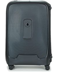 Delsey Moncey 4dr 76cm Hard Suitcase - Grey