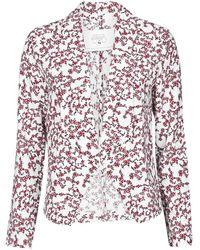 Le Temps Des Cerises Goya Jacket - White