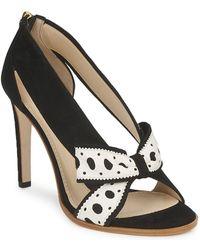 Moschino Delos Esca Court Shoes - Black