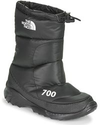 The North Face W Nuptse Bootie 700 Snow Boots - Black