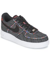 Lyst Nike Air Force 1 Negro '07 Lv8 Zapatos Instructores En Negro 1 Para Hombres 4d3a34