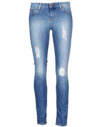 Acquaverde Scarlett Cropped Trousers - Blue
