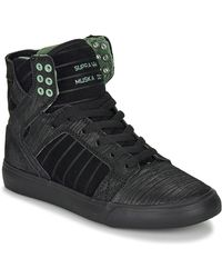 Supra Skytop Shoes (high-top Trainers) - Black