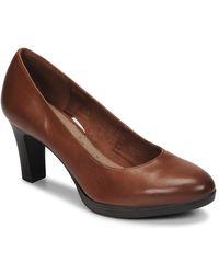 Tamaris Zealot Court Shoes - Brown