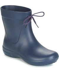 Crocs™ Freesail Shorty Rain Boot Wellington Boots - Blue