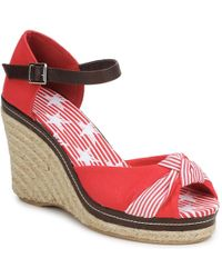 StylistClick Patty Women's Sandals In Red