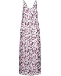 IKKS Bq30375-13 Long Dress - Purple
