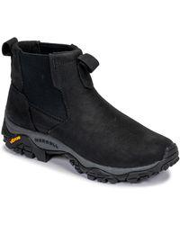 Merrell Moab Adventure Chelsea Plr Waterproof High Rise Hiking Boots - Black