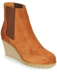 Bensimon Boots Cortland Mid Boots - Brown