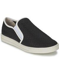 Mellow Yellow Sajoging Slip-ons (shoes) - Black
