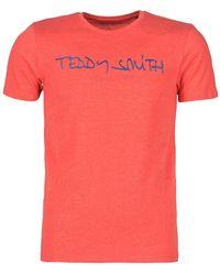 Teddy Smith Ticlass T Shirt - Red