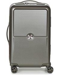 Delsey Turenne Cab 4dr 55cm Hard Suitcase - Grey