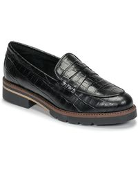 Betty London Nouma Loafers / Casual Shoes - Black