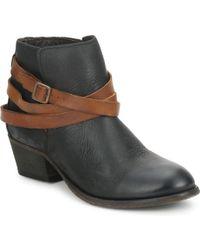 Hudson Jeans Horrigan Low Ankle Boots - Black