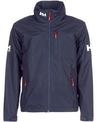 Helly Hansen Crew Hooded Midlayer Jacket Jacket - Blue
