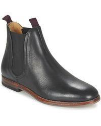 Hudson Jeans Tamper Calf Mid Boots - Black