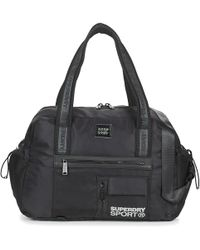 Superdry Sports Duffle Bag Men's Sports Bag In Black