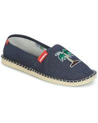 Havaianas Origine Fun Espadrilles / Casual Shoes - Blue