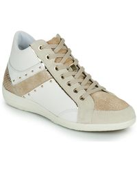 Geox D Myria G Shoes (high-top Trainers) - White