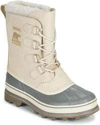 Sorel Caribou Snow Boots - White