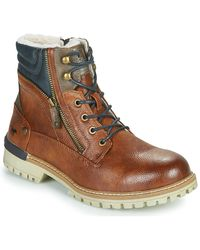 Mustang 4142604 Mid Boots - Brown