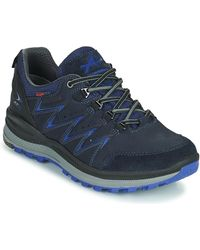 Allrounder By Mephisto Rake Off Tex Shoes (trainers) - Blue