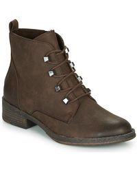 Marco Tozzi Low Ankle Boots - Brown