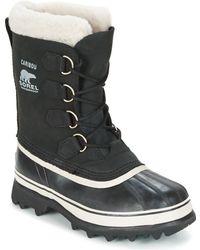 Sorel Caribou Nl1005 Boot,black/stone,6.5 M