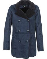 Naf Naf Byorgia Coat - Blue