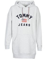 Tommy Hilfiger - Tjw Logo Hoodie Dress Dress - Lyst