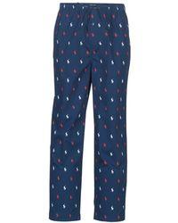 Polo Ralph Lauren Pj Pant-pant-sleep Bottom Sportswear - Blue