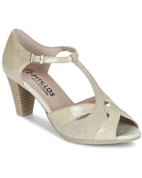 Pitillos Marilou Sandals - Natural