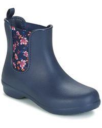 Crocs™ S/ladies Freesail Chelsea Boots (3 Uk) (navy) - Blue