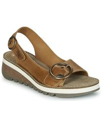 Fly London Tram2 Fly Sandals - Brown
