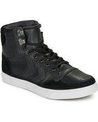 Hummel Slimmer Stadil Tonal Low Shoes (trainers) - Black